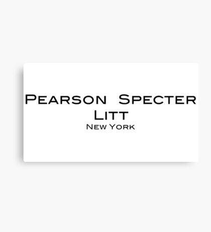 Pearson Specter Litt - Suits Canvas Print