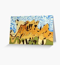 Rolling Hills near Kempton Greeting Card