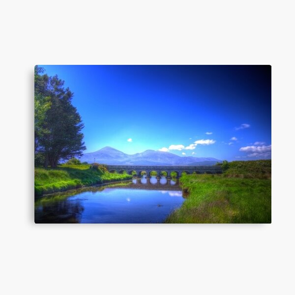 12 Arches Bridge, Newcastle, Co.Down Canvas Print