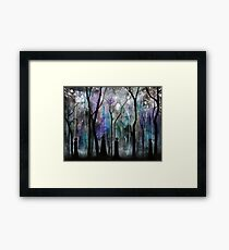 Haunted by Shadows Framed Print
