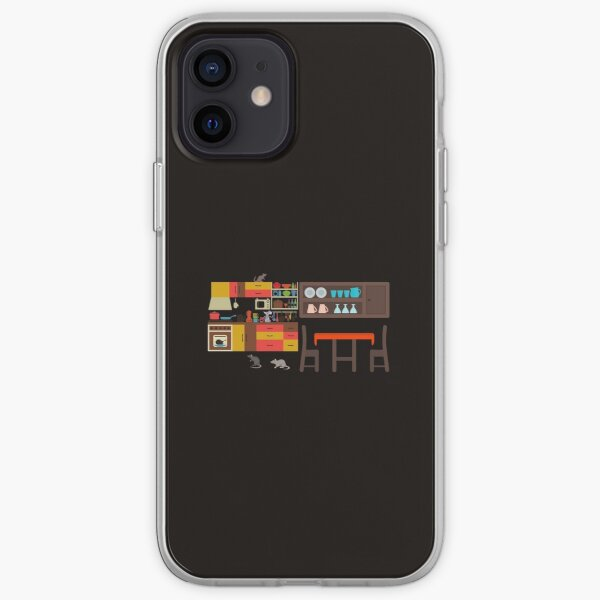 My Kitchen is haunted by rats. iPhone Soft Case