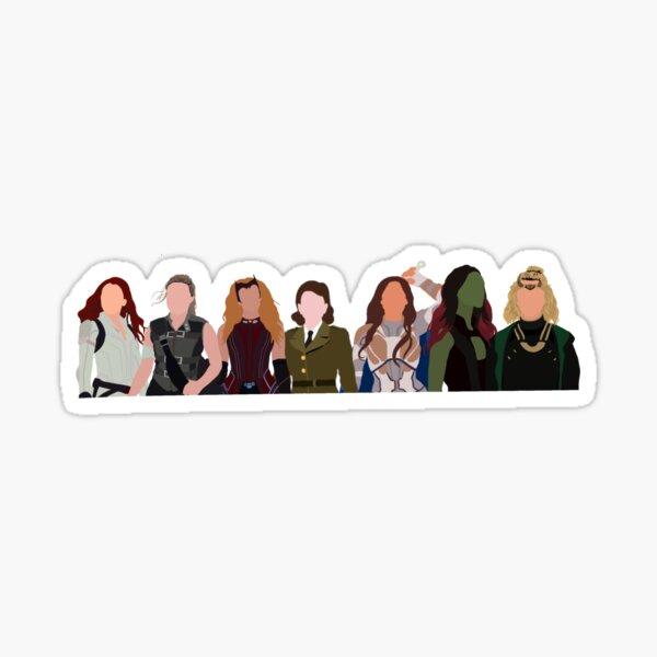 Marvelous ladies (no block) Sticker