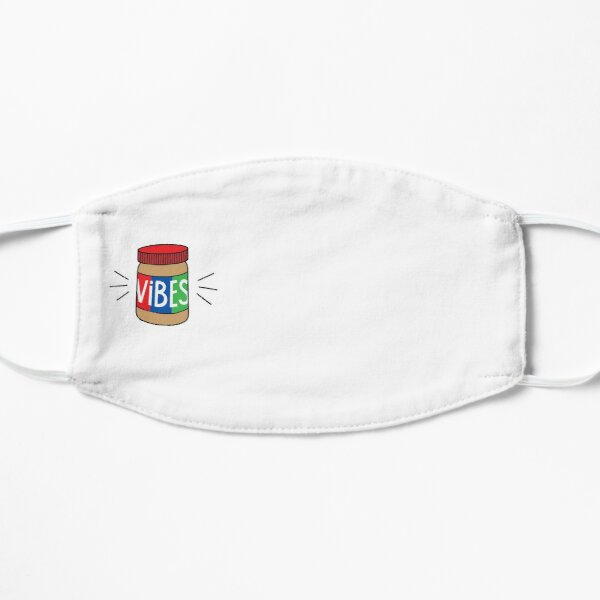 Copy of BEST SELLING - Peanut Butter Vibes MERCHANDISE Flat Mask