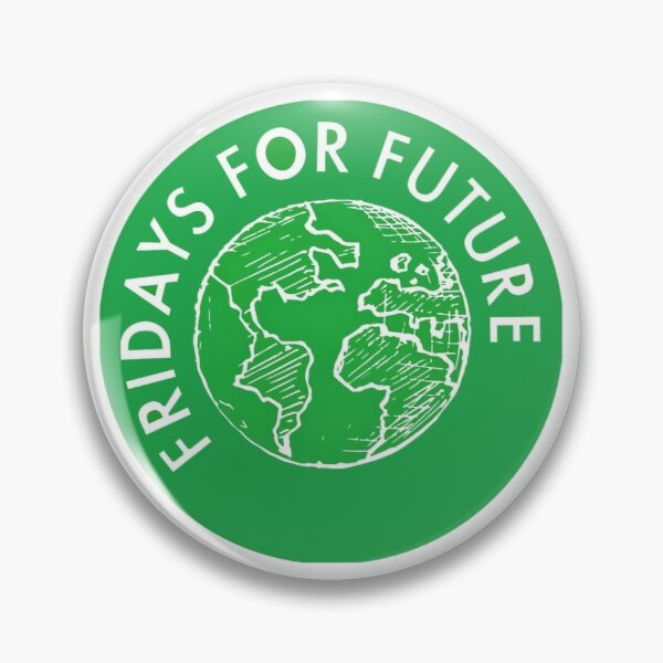 Fridays For Future Button