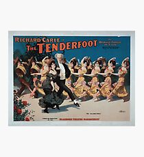 Performing Arts Posters Richard Carle in The tenderfoot an operatic comedy in acts book by Richard Carle music by HL Heartz 0957 Photographic Print