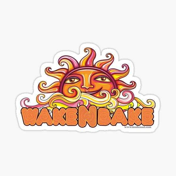 Wake & Bake  Sticker
