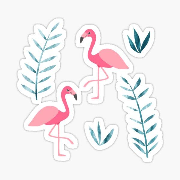 Flamingo fever Sticker