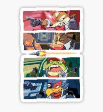 Star Muppets Fox Sticker