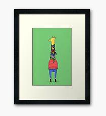 Scarf Lover Framed Print