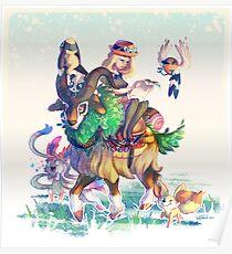 Pokemon X & Y - New Start Poster