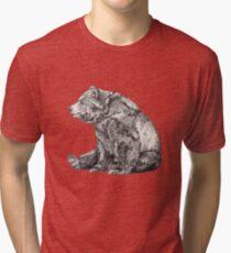Camiseta de tejido mixto OSO