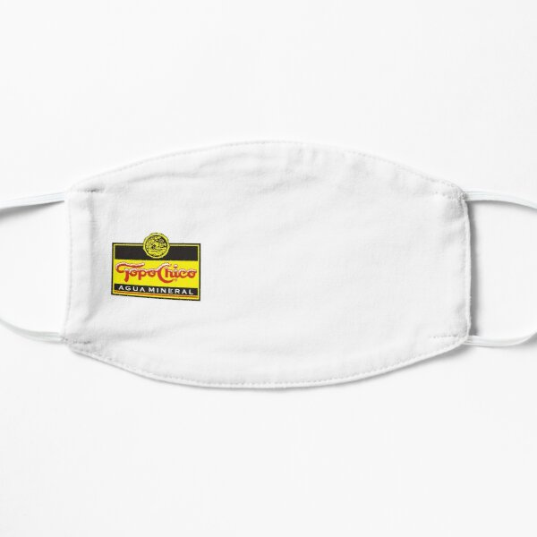 Best Selling - Topo Chico Agua Mineral Merchandise Flat Mask