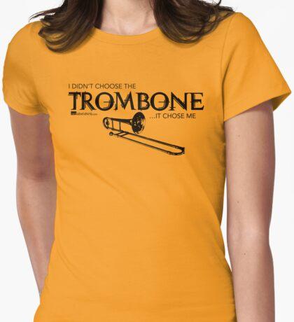 I Didn't Choose The Trombone (Black Lettering) T-Shirt