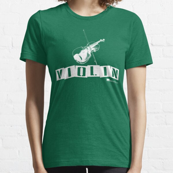 Label Me A Violin (White Lettering) Essential T-Shirt