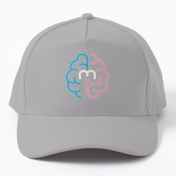 MindMed Logo (black) Baseball Cap