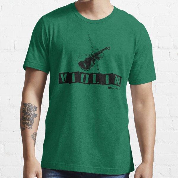 Label Me A Violin (Black Lettering) Essential T-Shirt