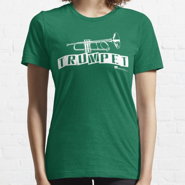 Label Me A Trumpet (White Lettering) Essential T-Shirt
