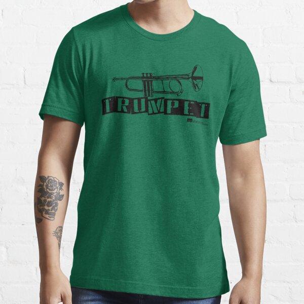Label Me A Trumpet (Black Lettering) Essential T-Shirt