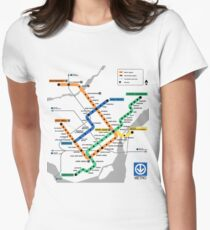STM Montreal Metro - light background T-Shirt
