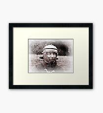 Roman in York #5 Framed Print