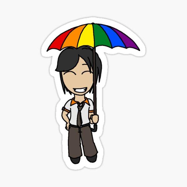 RAIN - Chibi Rudy Sticker