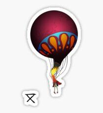 Balloon Girl Sticker