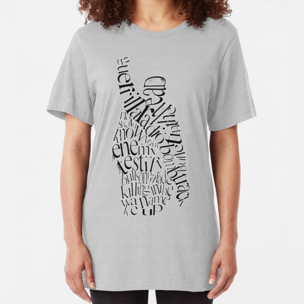 The Battle Of The Songs Slim Fit T-Shirt