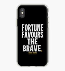 Fortune Favours The Brave T-shirts & Homewares iPhone Case