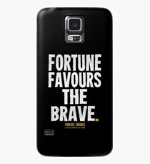 Fortune Favours The Brave T-shirts & Homewares Case/Skin for Samsung Galaxy