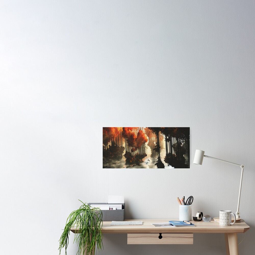 Autumn forests Poster