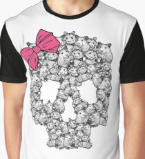 Hamster Sugar Skull Graphic T-Shirt