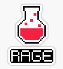 rage potion Sticker