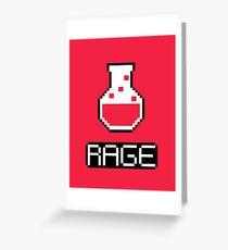 rage potion Greeting Card
