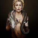 Gillian Anderson by Joe Humphrey