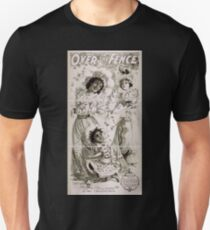 Performing Arts Posters Over the fence by Owen Davis a farcical comedy 1477 Unisex T-Shirt