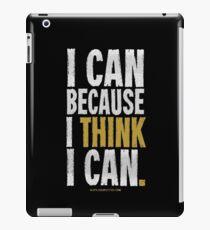 I Think I Can T-shirts & Homewares iPad Case/Skin