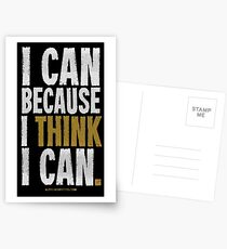 I Think I Can T-shirts & Homewares Postcards