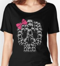 PUG sugar skull Women's Relaxed Fit T-Shirt