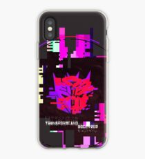 Double Badge Glitch (v.1) iPhone Case
