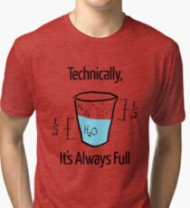 Science is Optimistic Tri-blend T-Shirt
