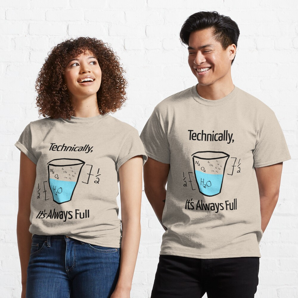 Science is Optimistic Classic T-Shirt