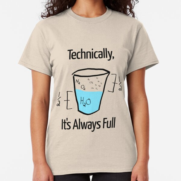 Science is Optimistic Classic T-Shirt