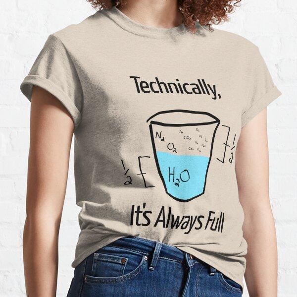 La ciencia es optimista Camiseta clásica