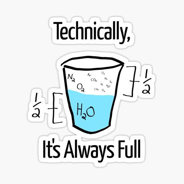 Science is Optimistic Sticker