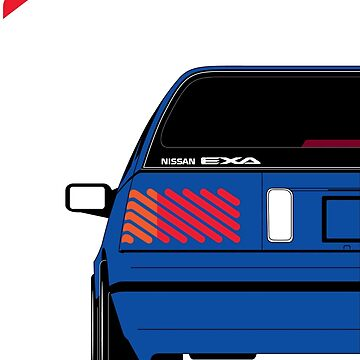 Nissan Exa Sportback - JAP Edition Blue by SEZGFX
