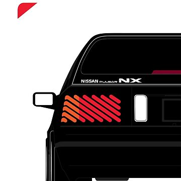 Nissan NX Pulsar Sportback - Black by SEZGFX