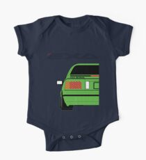 Nissan Exa Coupe - Green One Piece - Short Sleeve