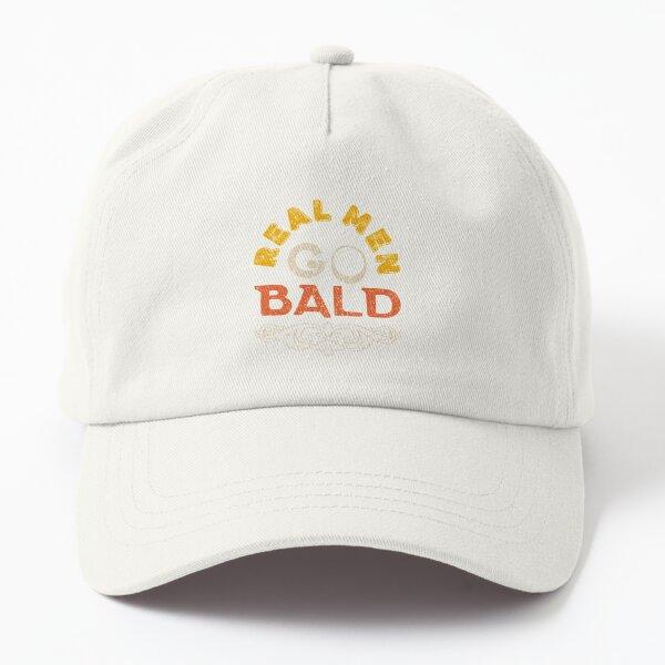 Real Men Go Bald Funny Vintage Dad Hat