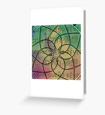Dreaming of Languages Greeting Card