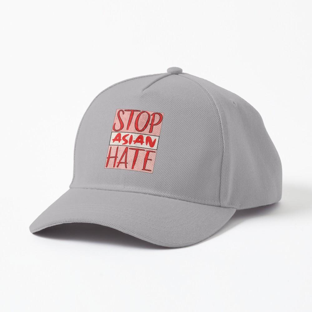 Asian Support- Stop Asian Hate - Anti Asian Racism Awareness Cap